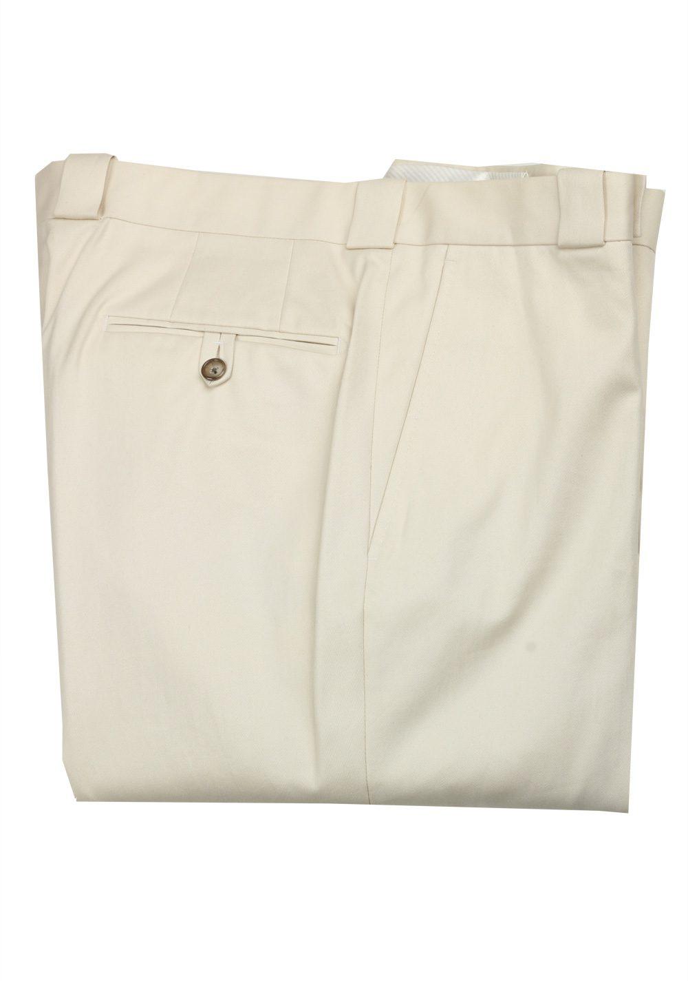 TOM FORD Beige Cotton Trousers Size 56 / 40 U.S. | Costume Limité
