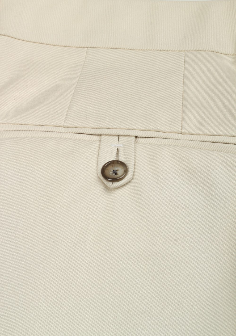 TOM FORD Beige Cotton Trousers Size 48 / 32 U.S. | Costume Limité