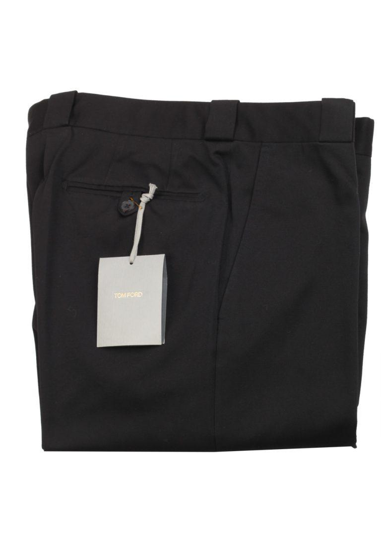 TOM FORD Black Cotton Trousers Size 52 / 36 U.S. - thumbnail | Costume Limité
