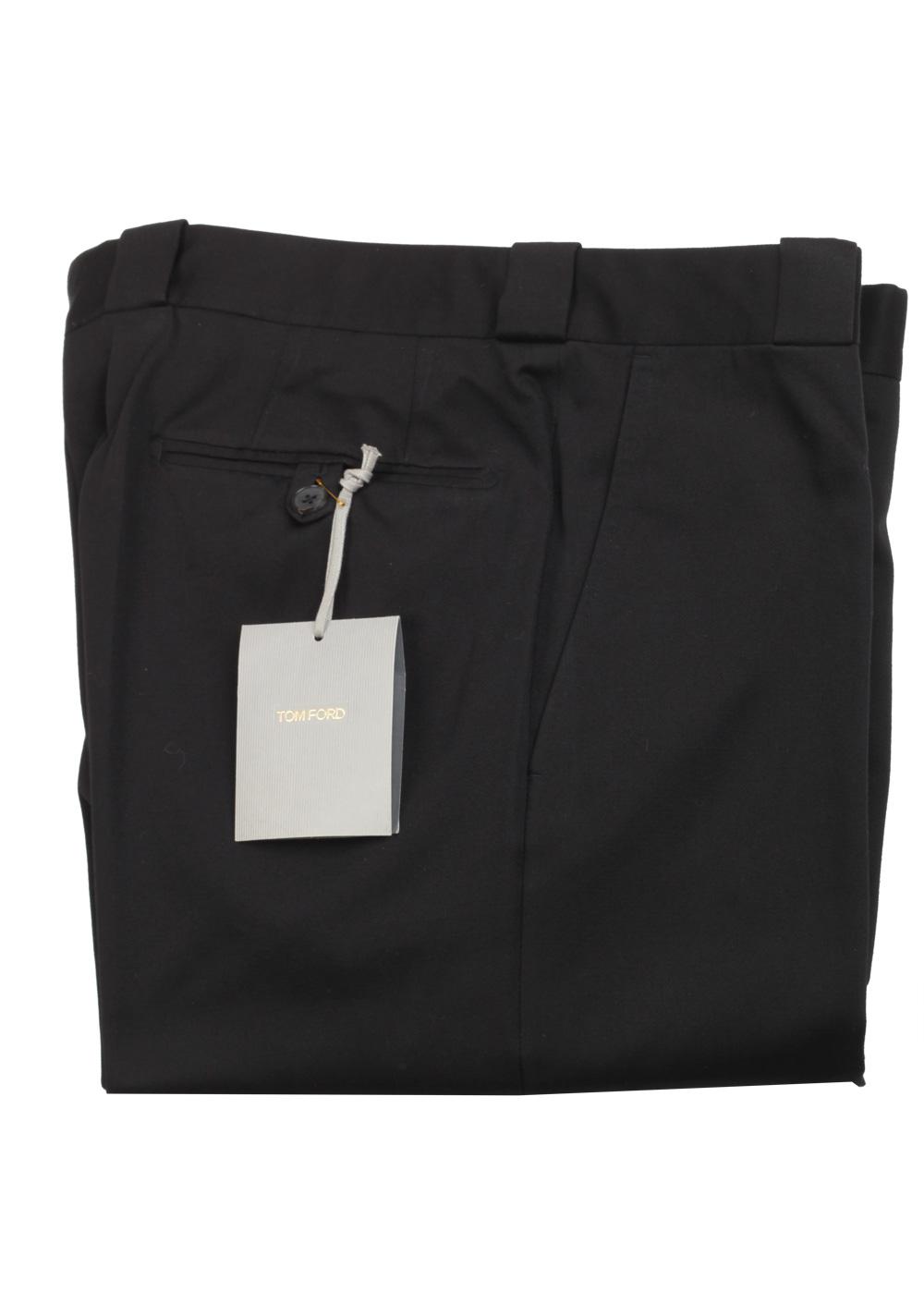 TOM FORD Black Cotton Trousers Size 52 / 36 U.S. | Costume Limité