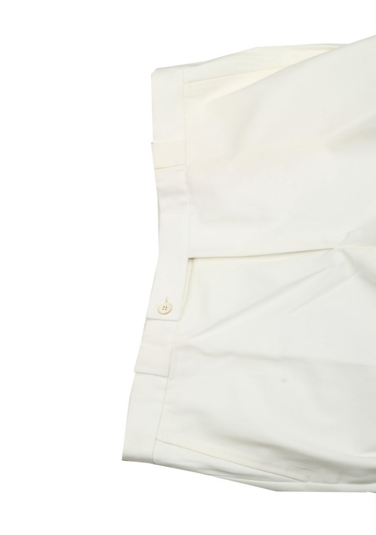 TOM FORD White Cotton Trousers Size 56 / 40 U.S. - thumbnail | Costume Limité