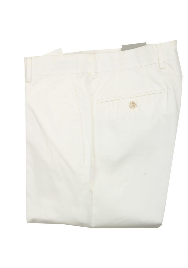 TOM FORD White Cotton Trousers Size 46 / 30 U.S. - thumbnail | Costume Limité
