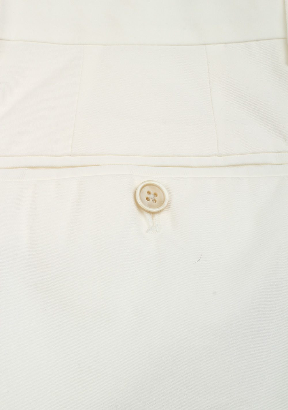 TOM FORD White Cotton Trousers Size 46 / 30 U.S. | Costume Limité