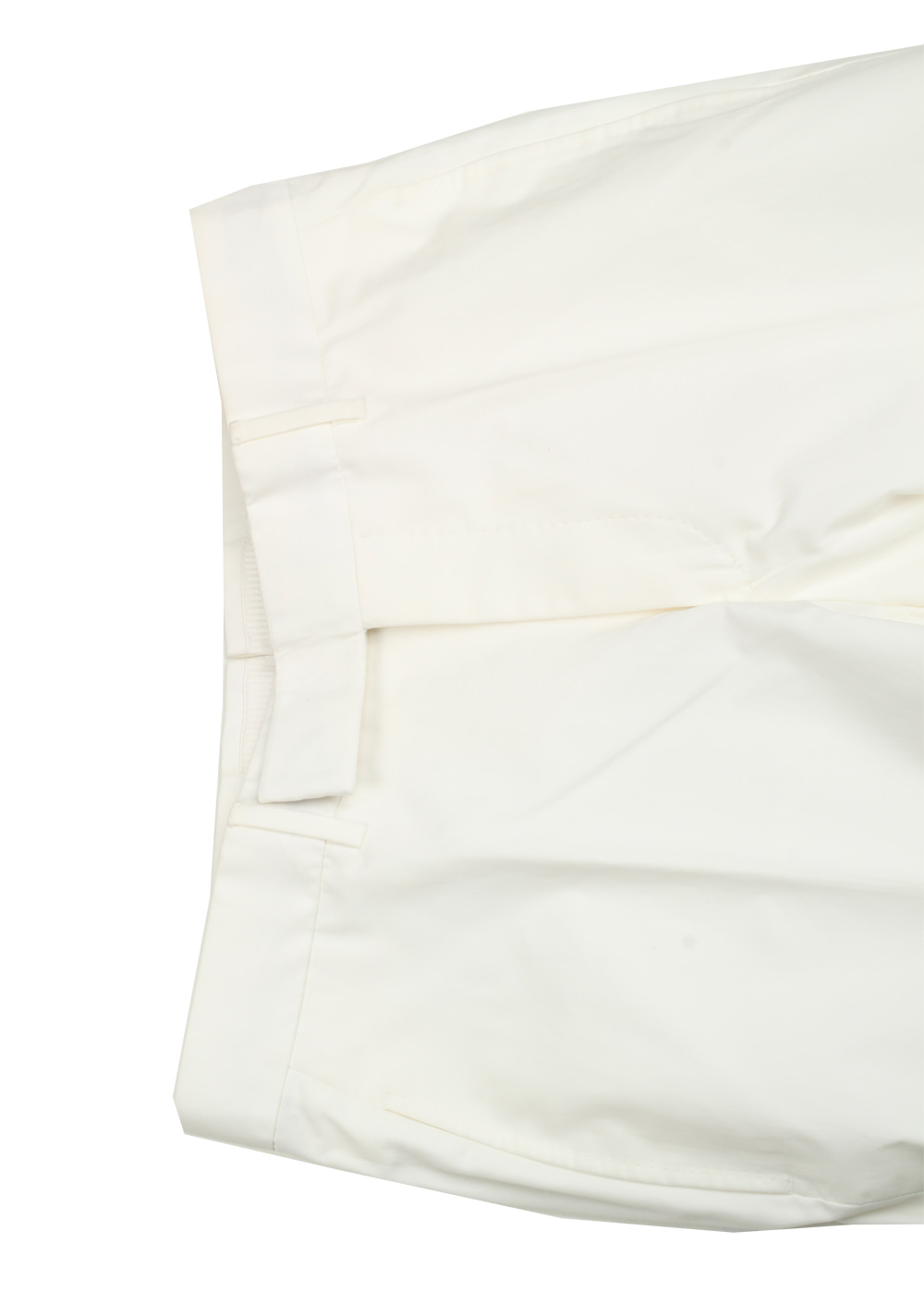 TOM FORD White Cotton Trousers Size 46 / 30 U.S.   Costume Limité