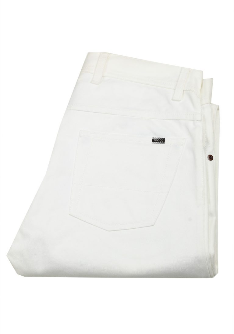 TOM FORD TF002 White Jeans Size 50 / 34 U.S. - thumbnail | Costume Limité
