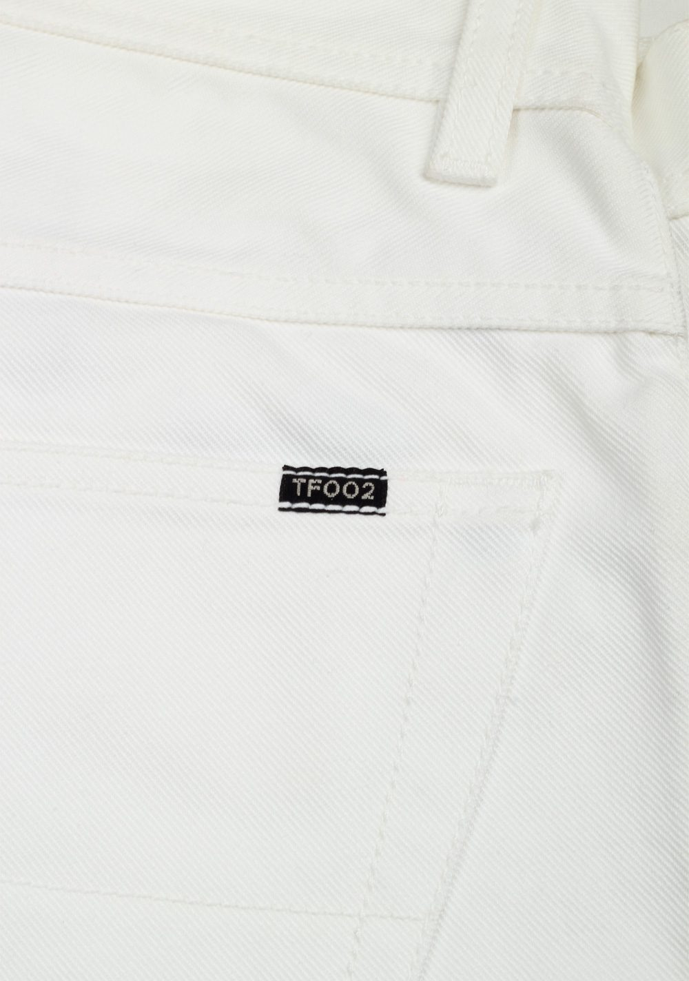 TOM FORD TF002 White Jeans Size 50 / 34 U.S. | Costume Limité