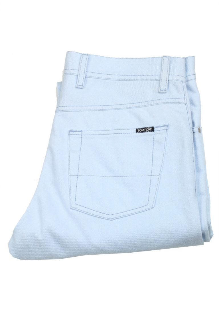 TOM FORD TF004 Light Blue Jeans Size 48 / 32 U.S. - thumbnail | Costume Limité
