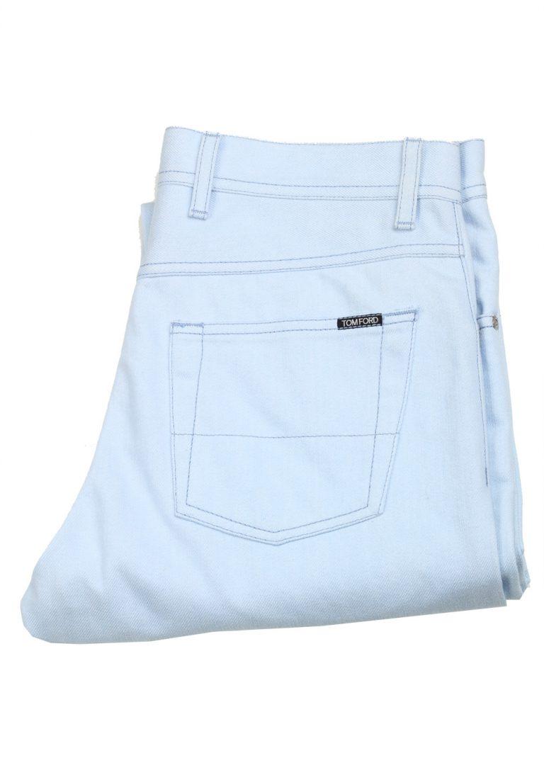 TOM FORD TF004 Light Blue Jeans Size 48 / 32 U.S. - thumbnail | Costume Limité