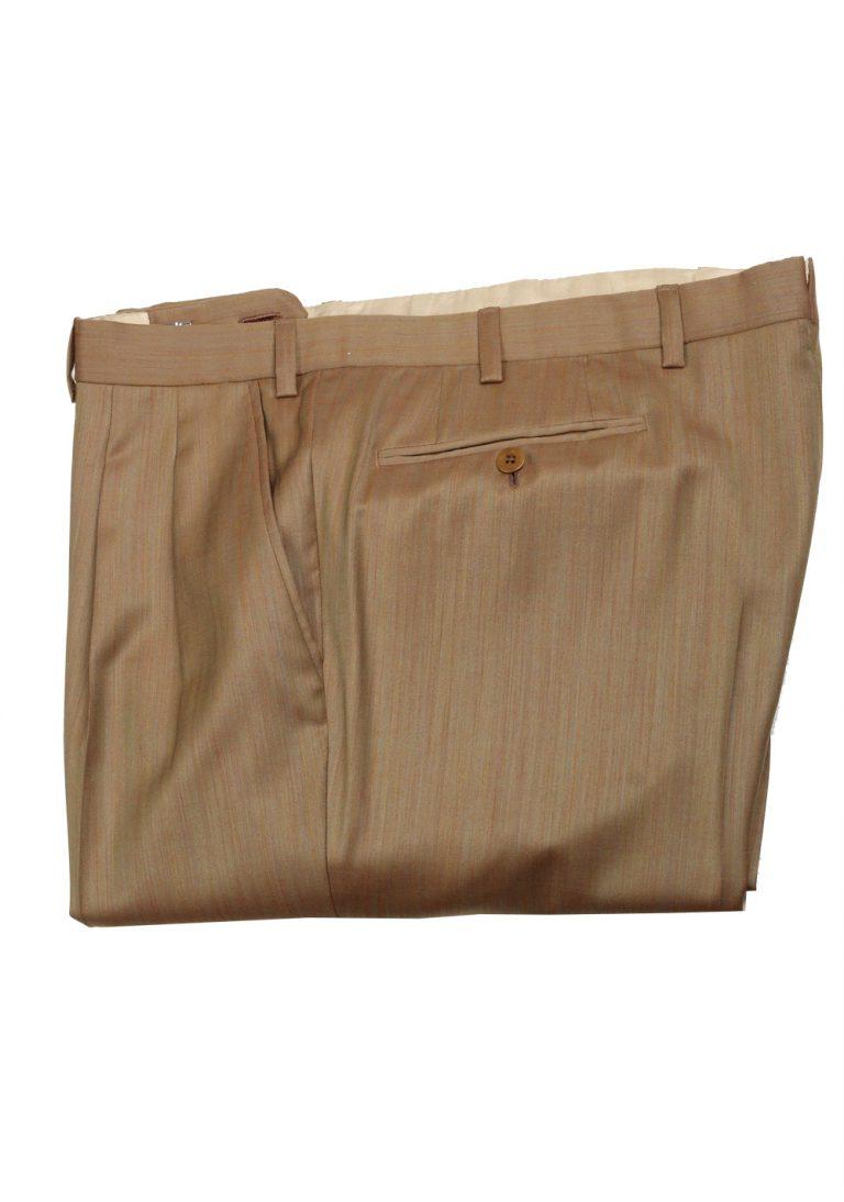 Brioni Brown Trousers Size 48 / 32 U.S. - thumbnail | Costume Limité