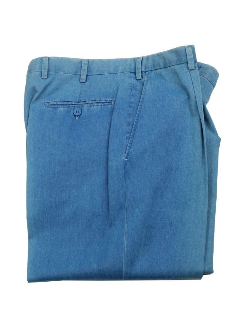 Brioni Blue Trousers Size 48 / 32 U.S. - thumbnail | Costume Limité