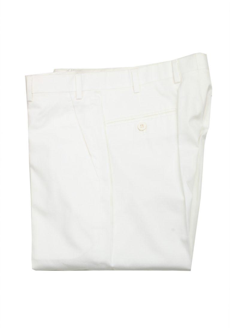 Brioni White Trousers Size 48 / 32 U.S. - thumbnail | Costume Limité