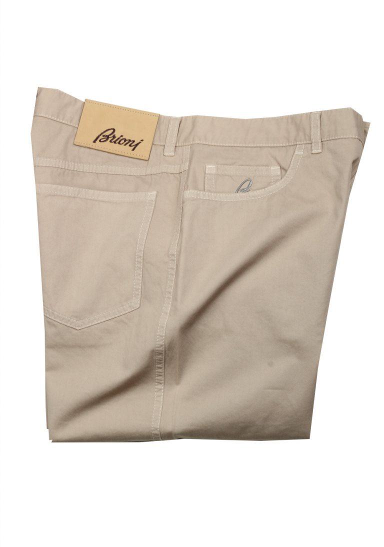 Brioni Beige Jeans Trousers Size 46 / 30 U.S. - thumbnail | Costume Limité