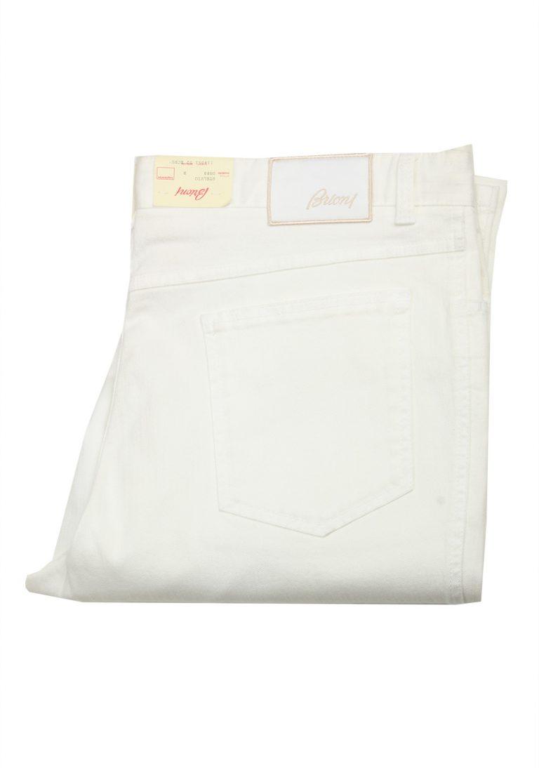 Brioni White Jeans Trousers Size 56 / 40 U.S. - thumbnail | Costume Limité