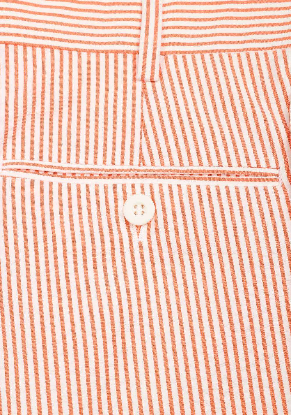 Brioni Pink White Striped Trousers Size 48 / 32 U.S. | Costume Limité