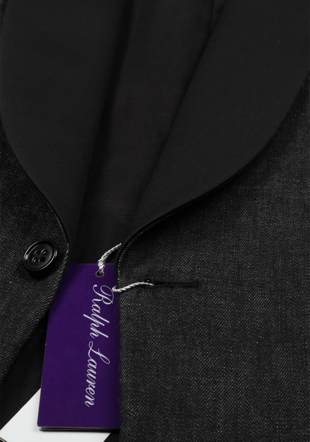 Ralph Lauren Purple Label Black Dinner Jacket Sport Coat Size 52 / 42R U.S. | Costume Limité