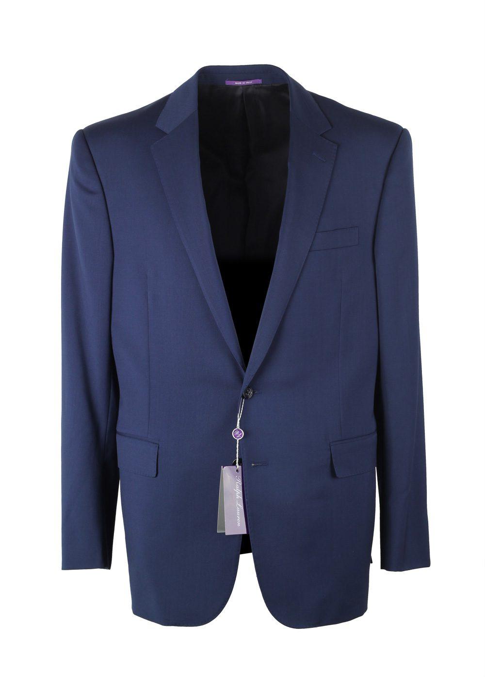 Ralph Lauren Purple Label Royal Blue Sport Coat Size In Wool | Costume Limité