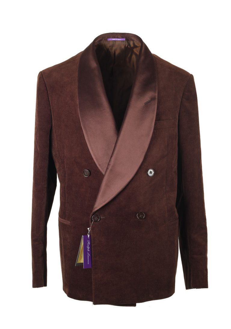 Ralph Lauren Purple Label Brown Dinner Jacket Sport Coat - thumbnail | Costume Limité