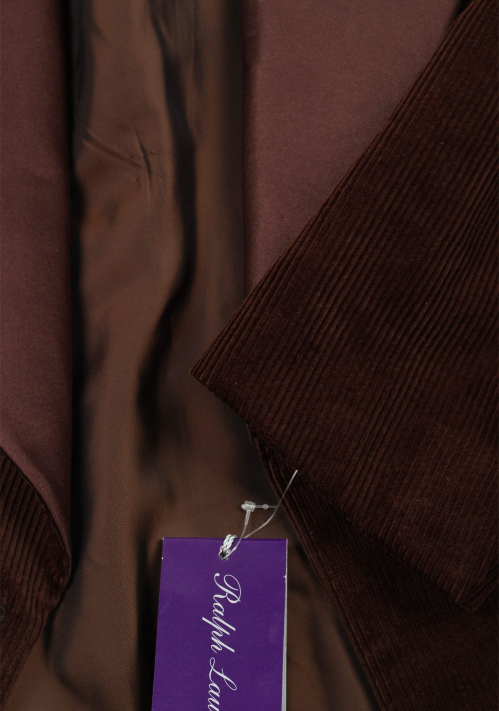 Ralph Lauren Purple Label Brown Dinner Jacket Sport Coat | Costume Limité