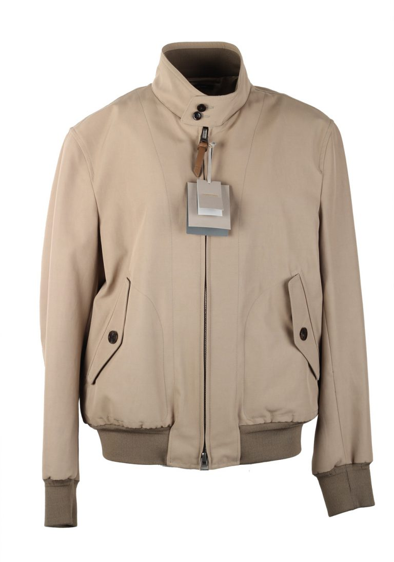 TOM FORD Beige Zipper Bomber Jack - thumbnail | Costume Limité