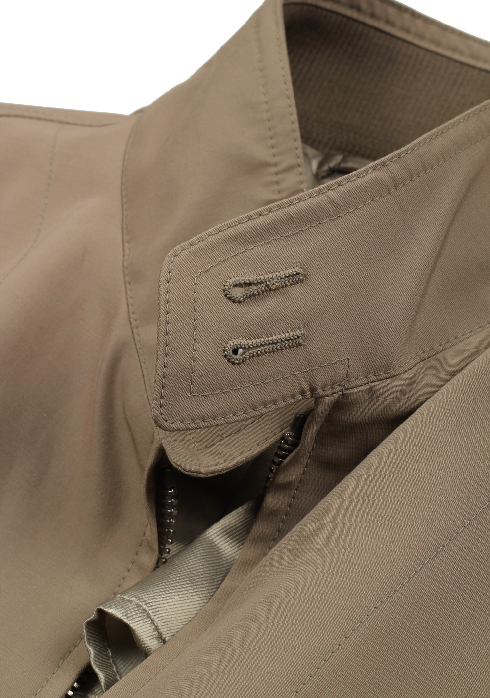 TOM FORD Beige Zipper Bomber Jack | Costume Limité