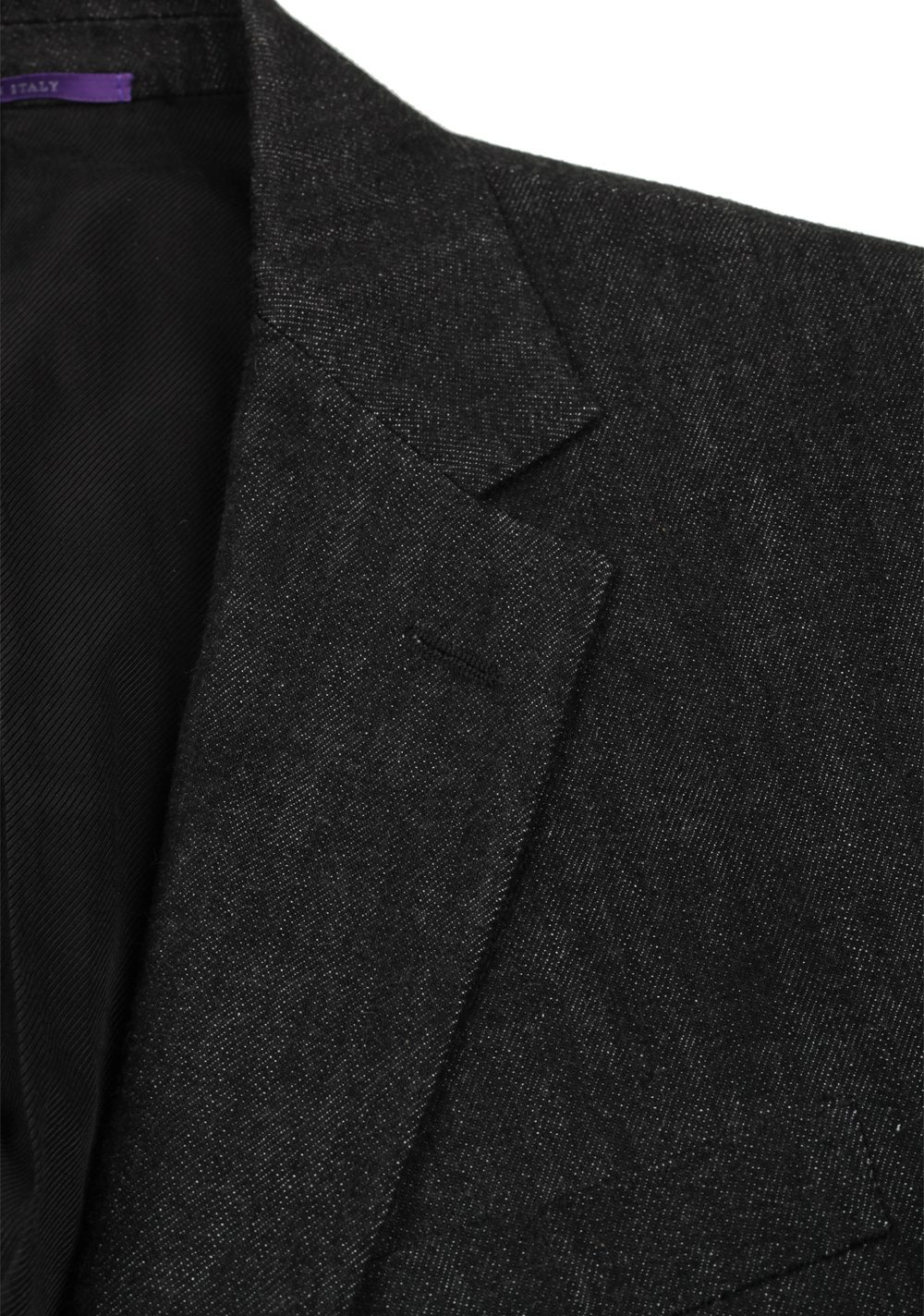 Ralph Lauren Purple Label Charcoal Sport Coat | Costume Limité