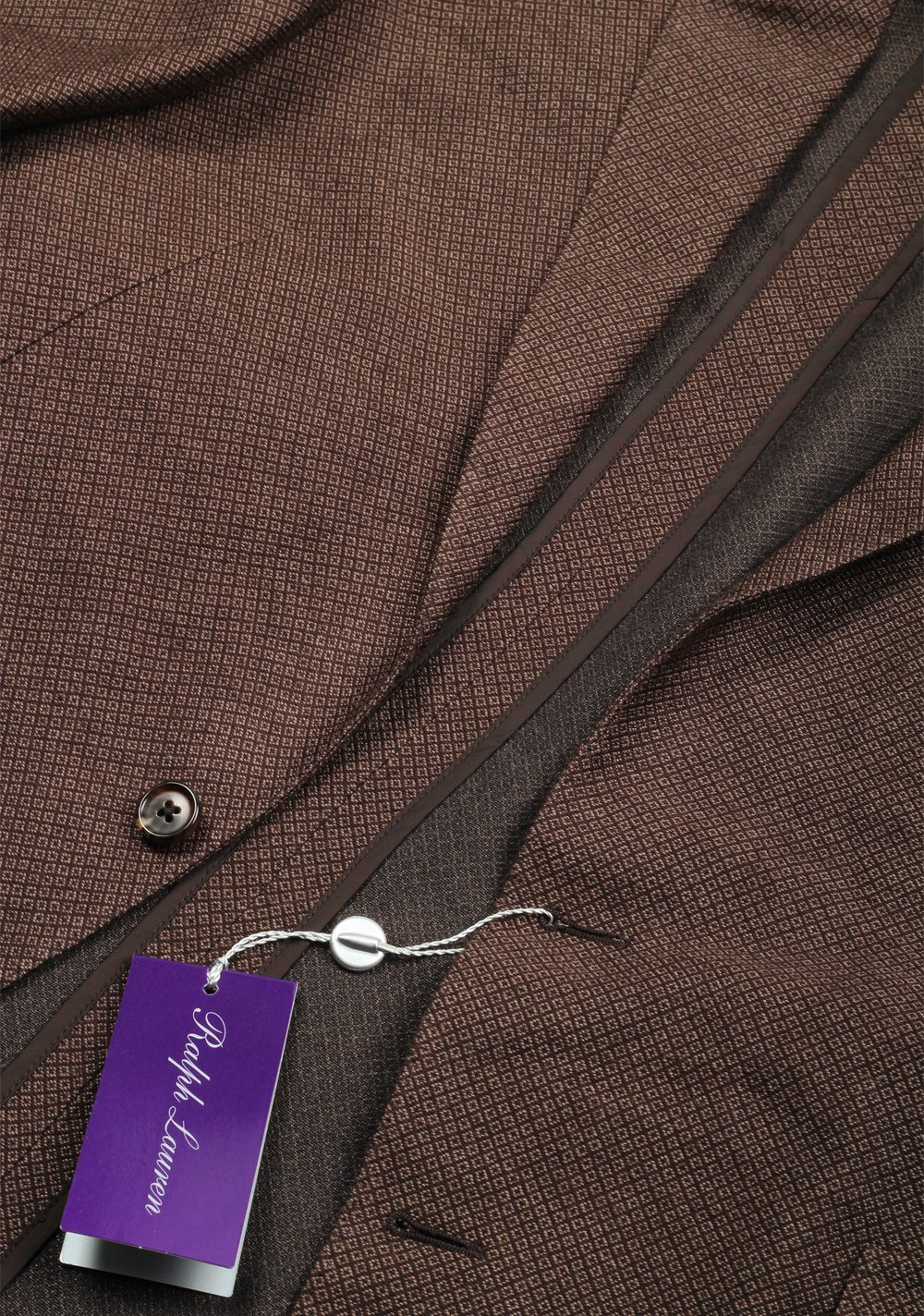 Ralph Lauren Purple Label Brown Sport Coat In Silk Cashmere | Costume Limité