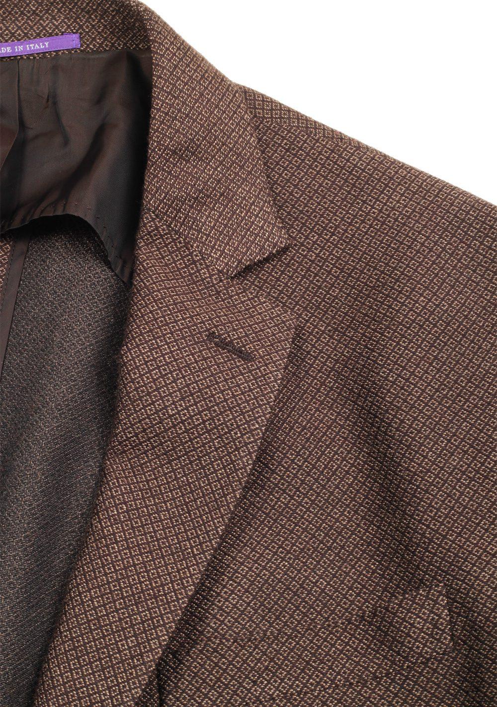 Ralph Lauren Purple Label Brown Sport Coat In Silk Cashmere | Costume Limité