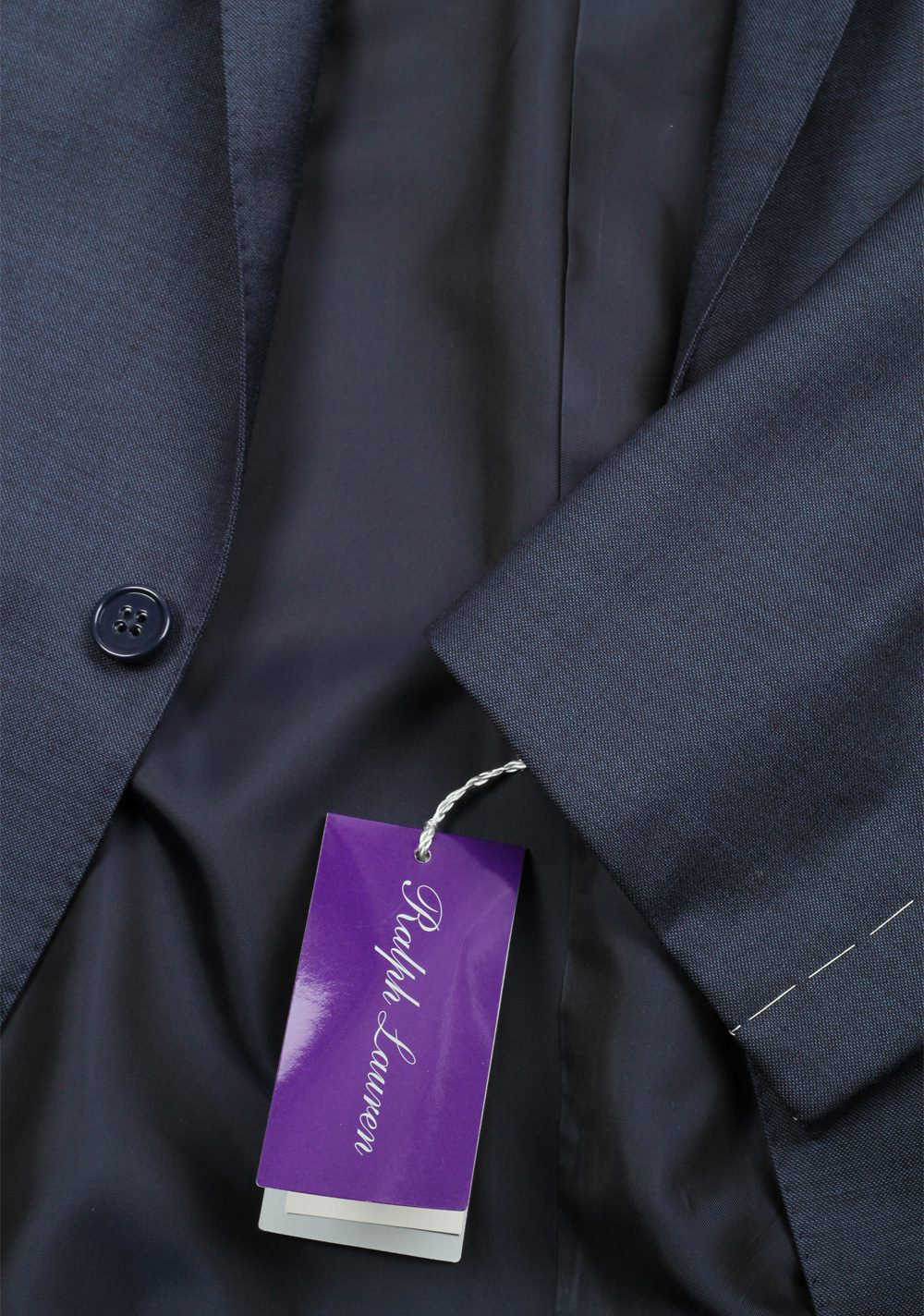 Ralph Lauren Purple Label Blue Suit | Costume Limité