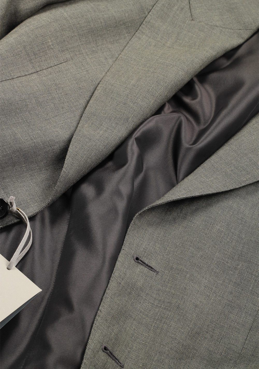 TOM FORD Shelton Greenish Gray Suit Size 48 / 38R U.S. | Costume Limité