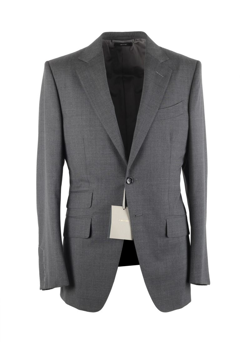 TOM FORD O'Connor Gray Suit Size 46 / 36R U.S. - thumbnail | Costume Limité
