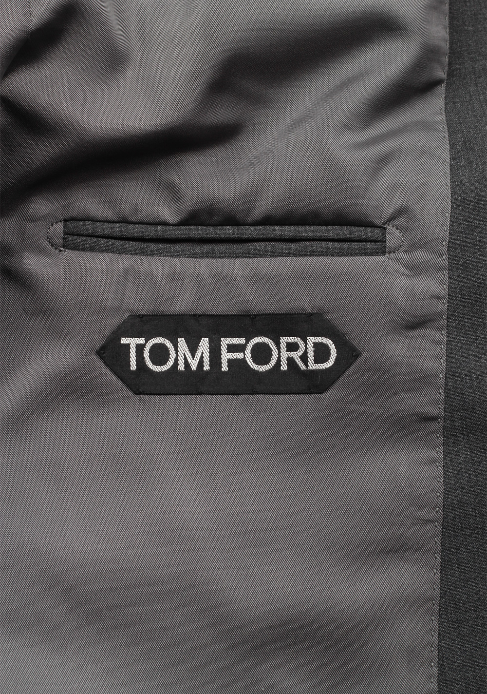 TOM FORD O'Connor Gray Suit Size 46 / 36R U.S.   Costume Limité