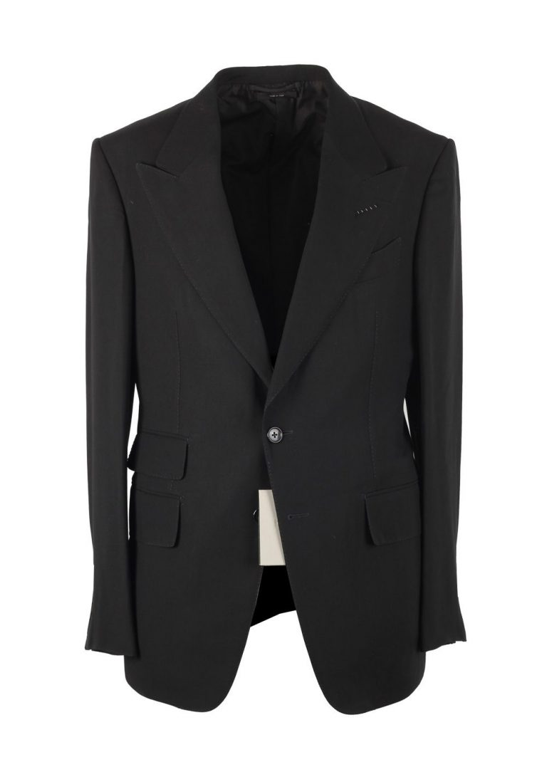 TOM FORD Shelton Black Suit Size 58L / 48L U.S. - thumbnail | Costume Limité