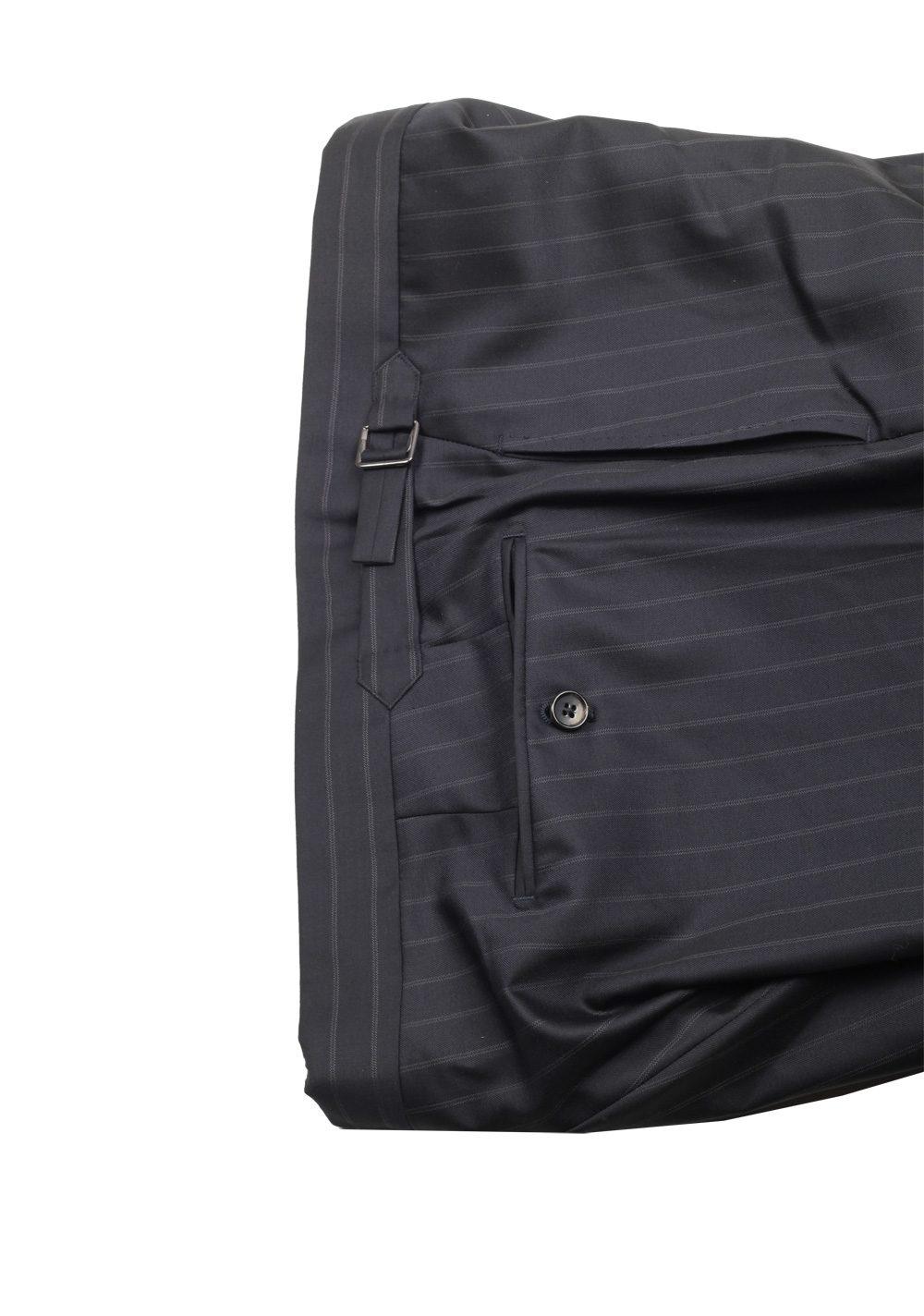 TOM FORD O'Connor Blue Striped Suit Size 56L / 46L U.S. Fit Y | Costume Limité