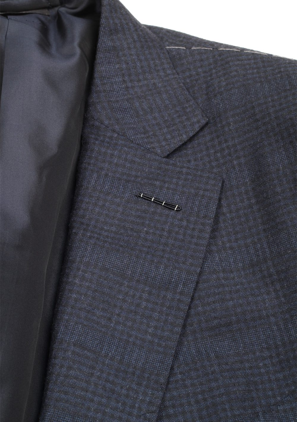 TOM FORD O'Connor Blue Checkend Suit Size 58 / 48R U.S. Fit Y | Costume Limité