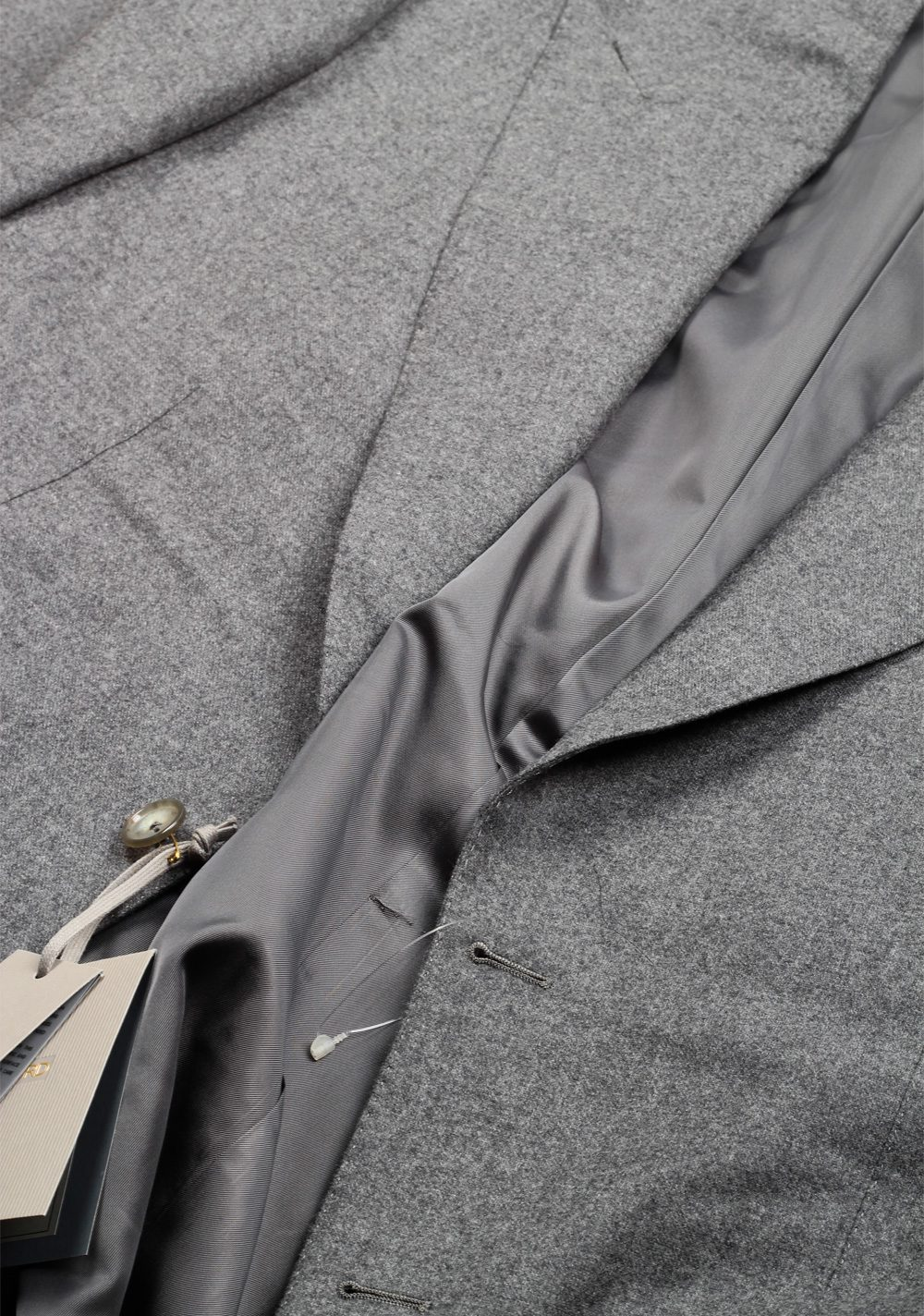 TOM FORD Windsor Solid Gray Suit Size 50 / 40R U.S. Wool Fit A | Costume Limité