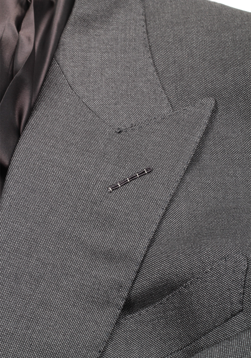 TOM FORD Shelton Gray Double Breasted Suit Size 48 / 38R U.S. | Costume Limité