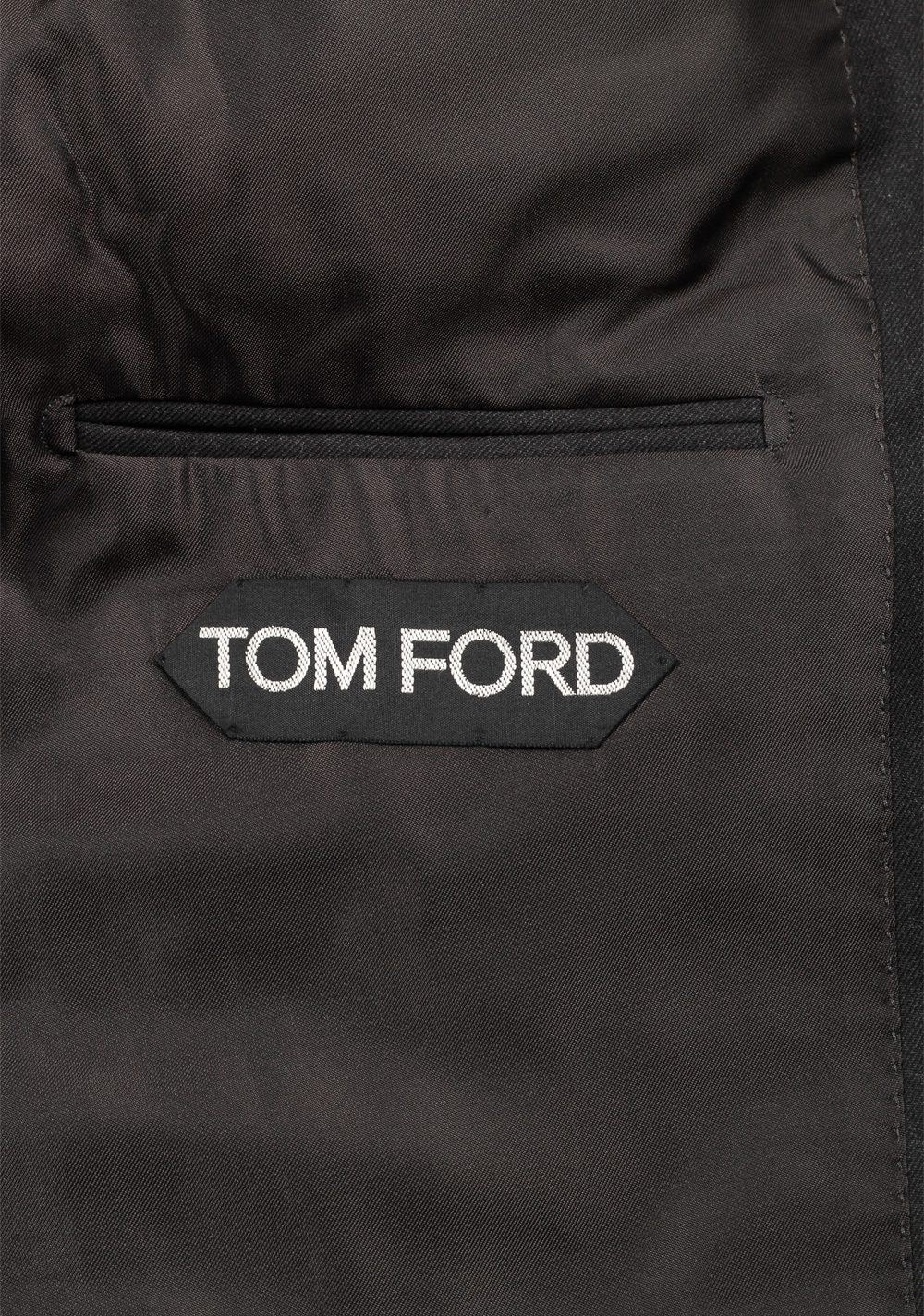 TOM FORD Regency Gray Suit 3 Piece Size 44 / 34R U.S. Wool   Costume Limité