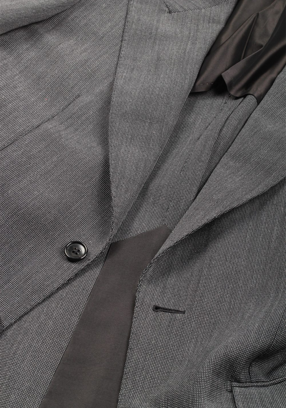 TOM FORD Shelton Gray Suit Size 46 / 36R U.S. In Mohair Wool   Costume Limité