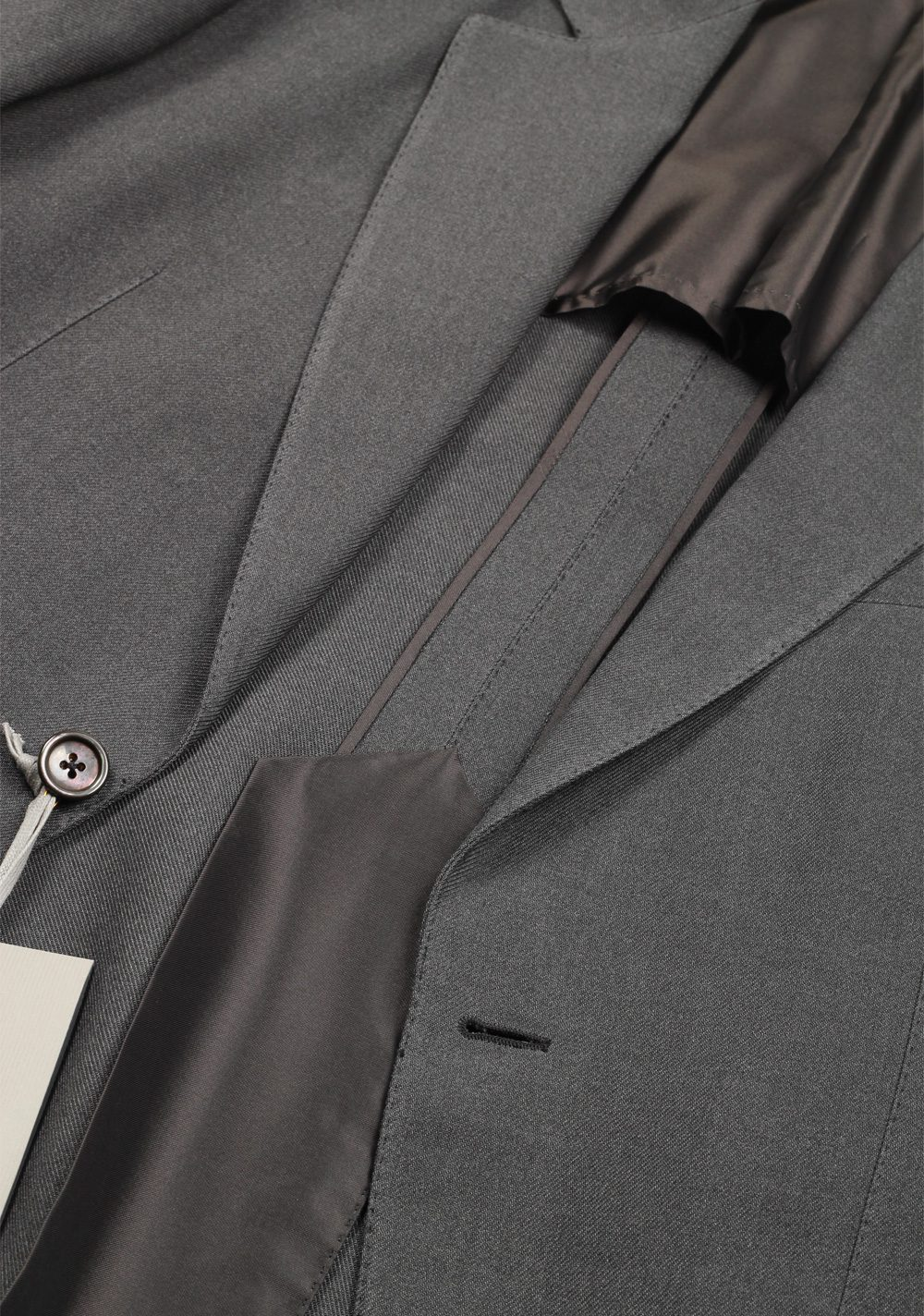 TOM FORD Buckley Gray Suit Size 48 / 38R U.S. In Wool | Costume Limité