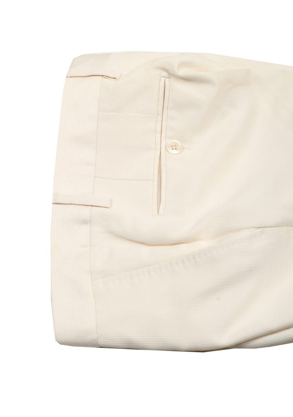 TOM FORD Buckley Off White Suit Size 48 / 38R U.S. Silk Cotton | Costume Limité