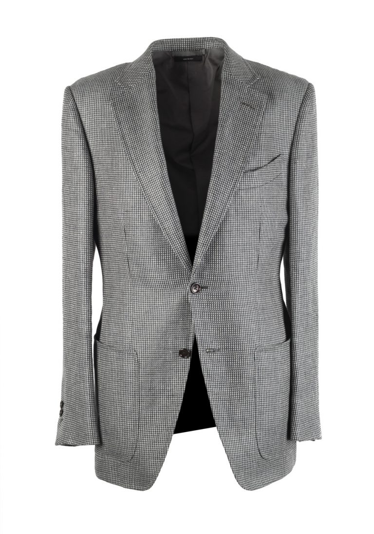 TOM FORD Falconer Gray Sport Coat Size 48 / 38R U.S.  Fit F - thumbnail | Costume Limité