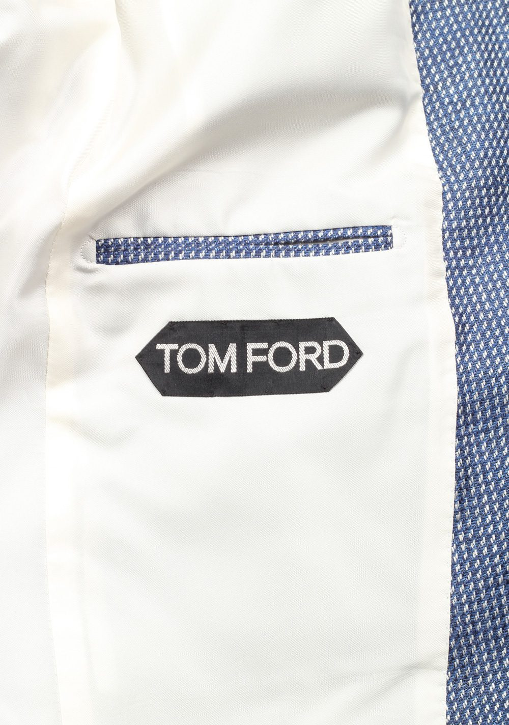 TOM FORD Falconer Blue Sport Coat Size 48 / 38R U.S.  Fit F | Costume Limité