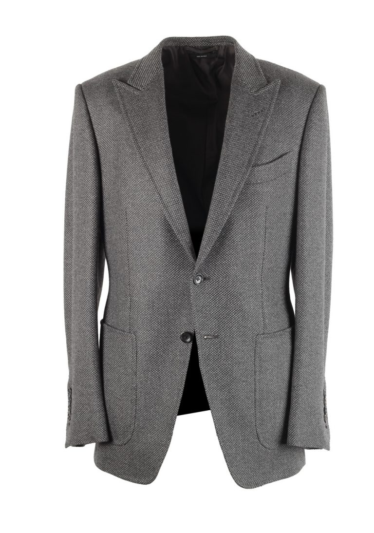 TOM FORD O'Connor Gray Sport Coat Size 48 / 38R U.S. Fit Y - thumbnail | Costume Limité
