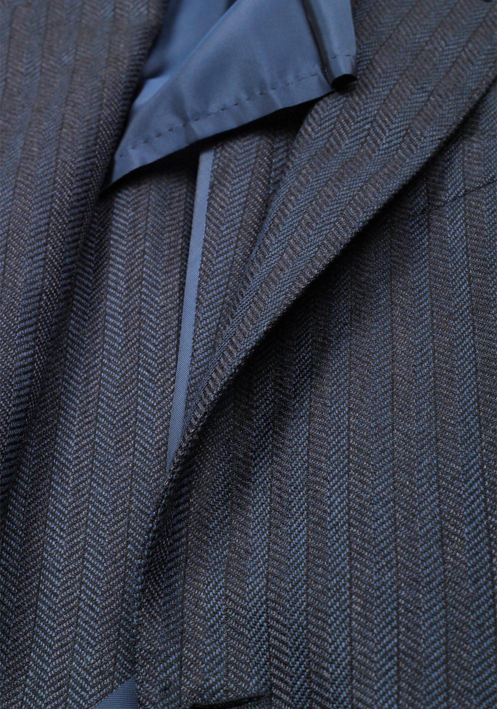 TOM FORD Buckley Blue Sport Coat Size 48 / 38R U.S. Base E   Costume Limité