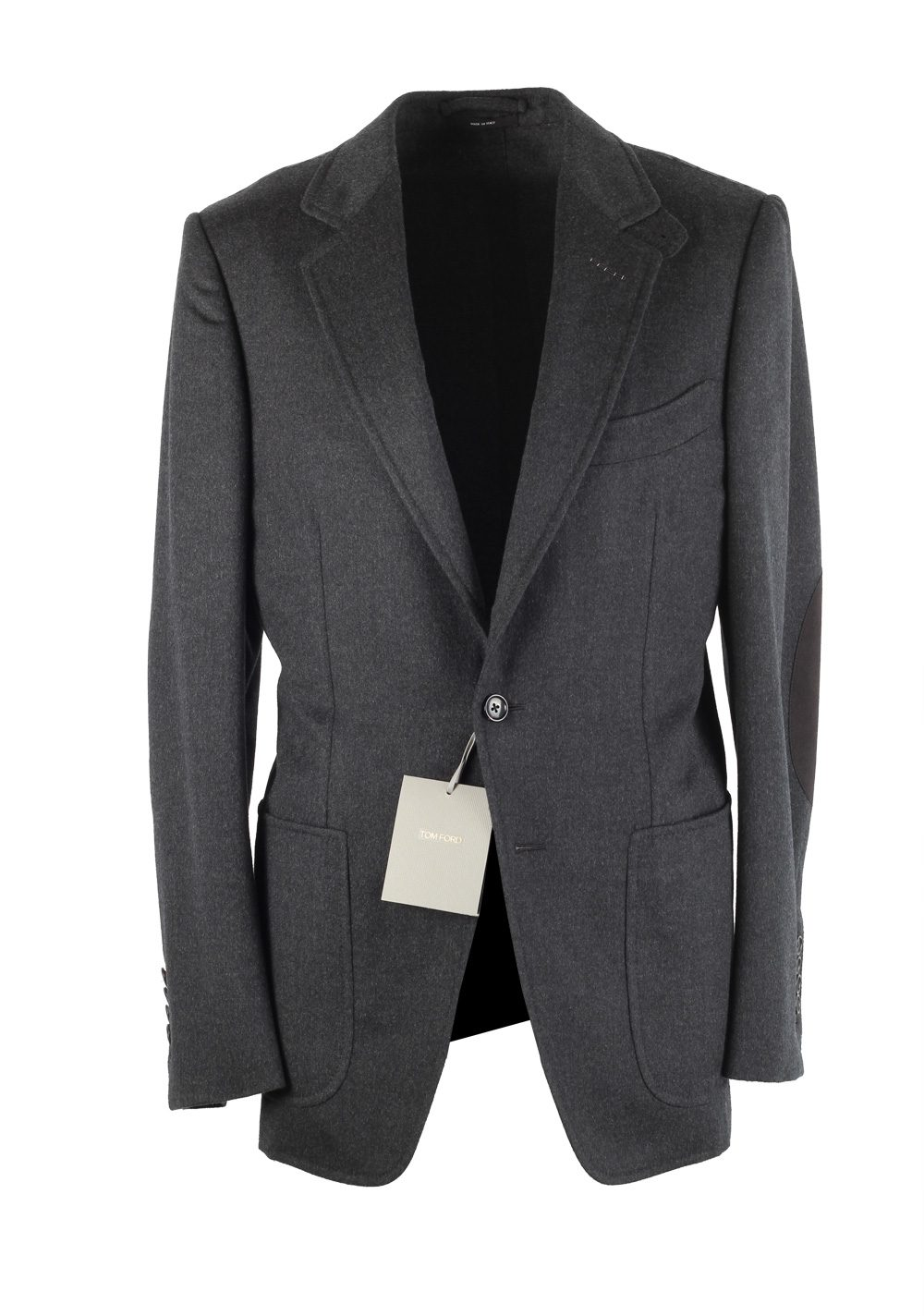 TOM FORD Buckley Gray Sport Coat Size 48 / 38R U.S. Base V | Costume Limité