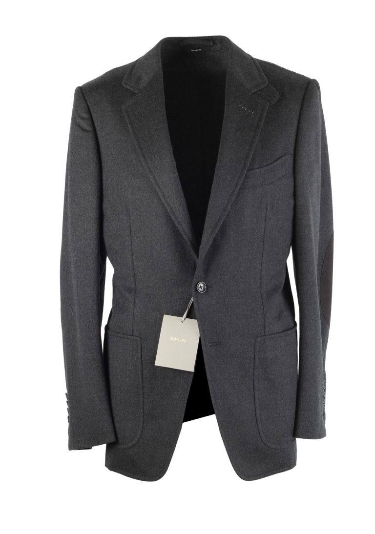 TOM FORD Buckley Gray Sport Coat Size 48 / 38R U.S. Base V - thumbnail | Costume Limité
