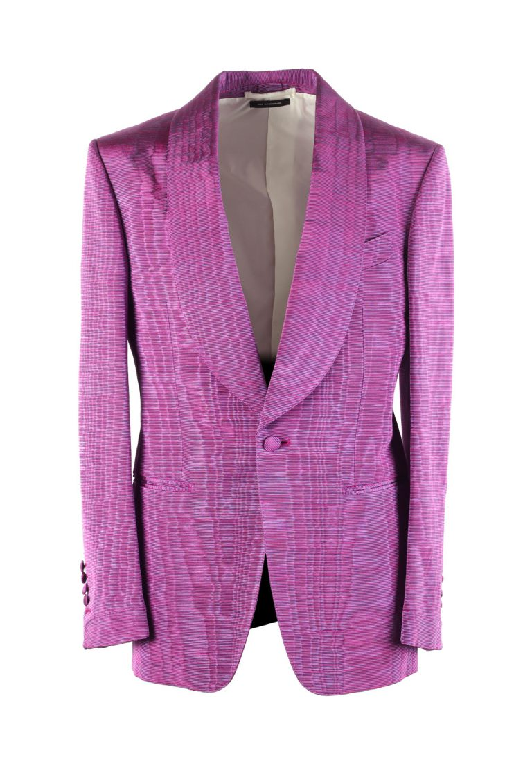 TOM FORD Shelton Pink Tuxedo Dinner Jacket Size 46 / 36R U.S. - thumbnail | Costume Limité