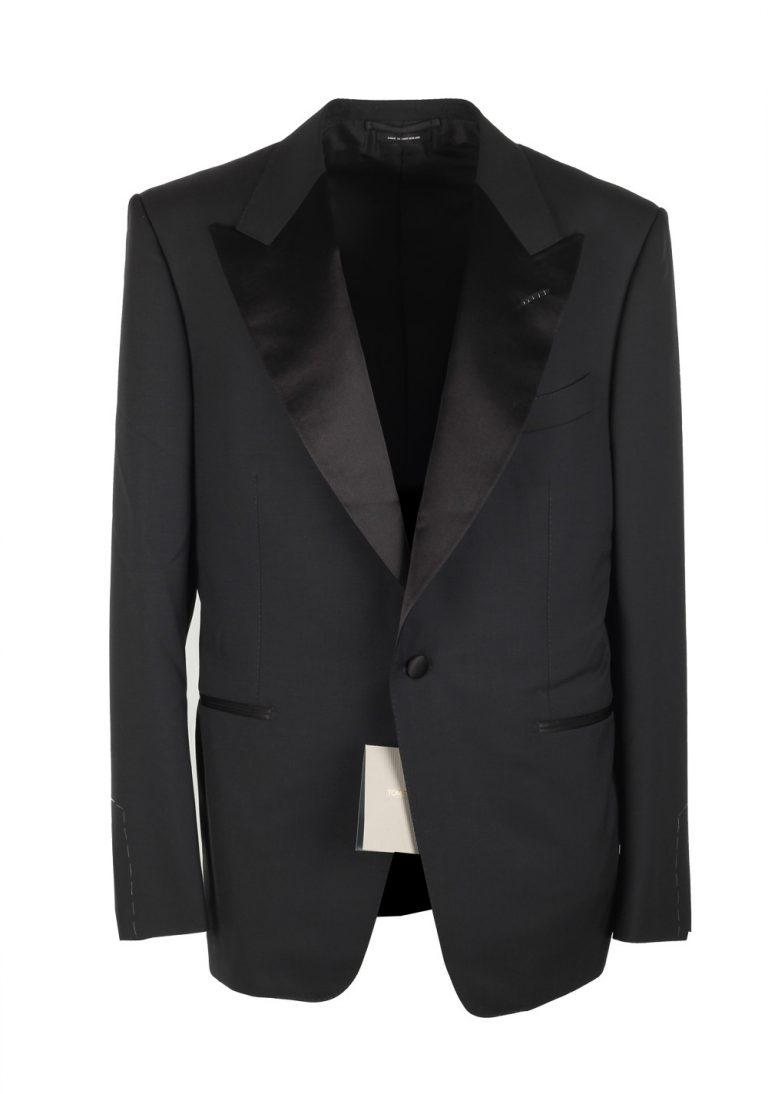 TOM FORD Windsor Black Tuxedo Dinner Jacket Size 60 / 50R U.S. Fit A - thumbnail | Costume Limité