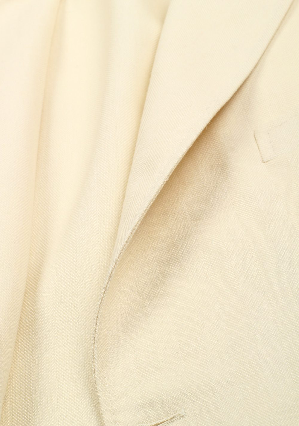 TOM FORD Shelton Off White Sport Coat Size 54 / 44R U.S. Mohair Silk Wool | Costume Limité