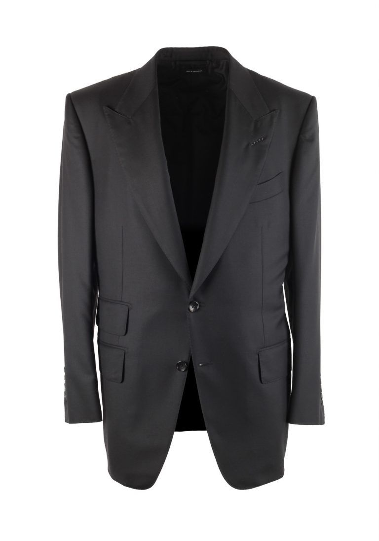 TOM FORD Windsor Black Checked Sport Coat Size 50 / 40R U.S. Fit A - thumbnail | Costume Limité